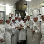 A gaggle of pretend chefs. What a surprise!