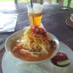 Delicious Laksa for lunch