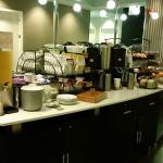 Complimentary continental breakfast