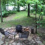 All our cabins have outdoor firepits... firewood provided
