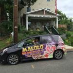 Chef Jorge and the Malolo car