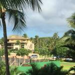 SW view from our lanai toward other buildings in the property.