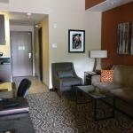 Sitting room area in our King Balcony room, 3rd fl