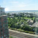 View from 14th floor of Potomac and DCA.