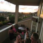 Sunset viewing deck (back lanai)