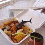 Take out nearby steamer platter and utilize the porch!