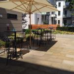 Open air patio at MO Dresden-Palaisplatz����