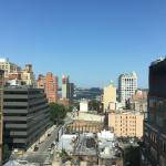View from Room 1112 on a Gorgeous Sunny Morning in July - We could see the Hudson