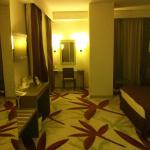View from the entrance of the room