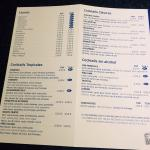 Drinks list all inclusive