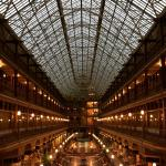 Atrium style roof in what was Clevelands and one of the Nations first Shopping Malls.