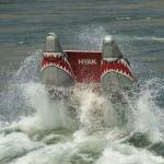 Afternoon Power Trip on the JAWS motor boat