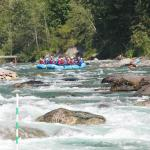 Boulders and boats in the Chilliwack