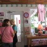 Check in at The Pink Motel with Miss Fay and her granddaughter/assistant.