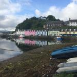 Another view of Portree harbour