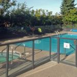 Executive Suites pool - main over  fence
