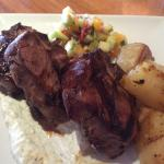 Greek style lamb chops. I happened to get the last one before they sold out!