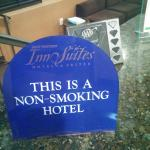 Supposed to be a non smoking hotel but tried putting me in a smoking room.