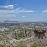 View of the Olduvai Gorge from the museum