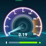 WiFi speed is almost on the chart.