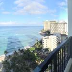 View of Waikiki from 18th Floor Ocean Front room