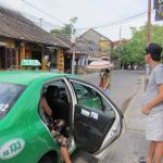 USD$2 Taxi ride from Botanic Garden Homestay to Ancient Hoi An City