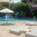 Family pool , sandy beach