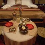 Romantic package that can be arranged with innkeeper for a fee
