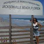 On The Beach In Jacksonville