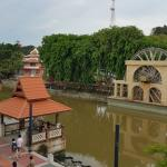 Amazing view from the balcony of the Melaka Suite
