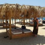 20€ per day, but with 20€ voucher for beach drinks!