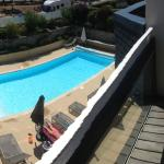 Swimming pool from our room