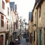 Le Mans old town, 15 mins walk from the hotel.