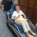 Nans mode of transport to cimbrone