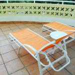 Balcony with loungers (303)