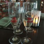 Complimentary Prosecco Toast