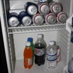 ice cold fridge
