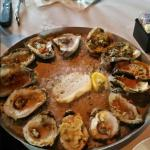 Ah ma zing oyster sampler! To die for! A must try. Yummmmy