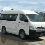 Car from Airport to Jetty