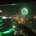 Fireworks from our room