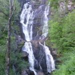 The Waterfall at the top