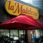 Le Madeleine has patio seating...just like Paris!