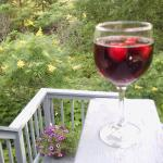 Sangria on the Deck
