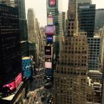 View of Times Square from room 3155