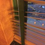 blinds broken and would not close