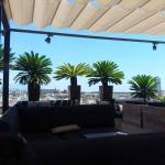Lovely Skybar seating area