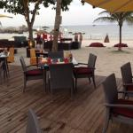 Very good beach front dinning, but expensive