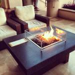 Four Seasons Lanai Cooke Furniture Fire Pit Table