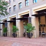 Outdoor Dining of Hotel Sit-Down Restaurant - Embassy Suites Old Town Alexandria.