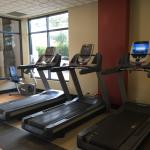 Great fitness room. Love the cool towels offered. Large rooms.